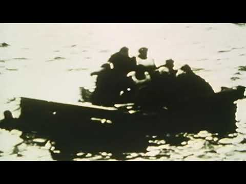 Wreckage of US amphibious jeep that sank in WWII