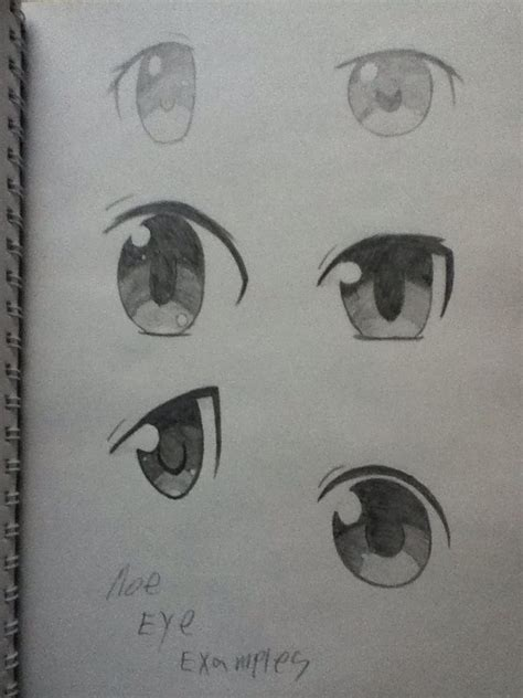 More Anime Eye examples! (Specifically Moe style