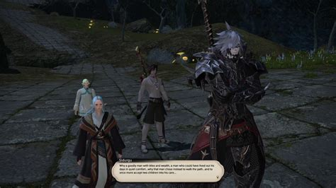 FFXIV Dark Knight Quests - The Orphans and the Broken