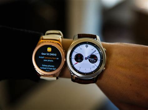 For Samsung's Gear S3, size matters