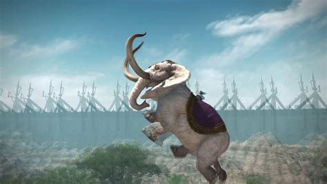 FFXIV - Tribes daily quests - Elephant mount