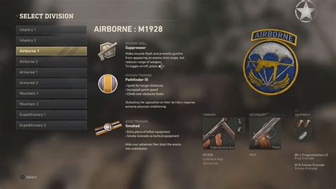 COD: WW2 - All Division Skills and Training Guide   Tank