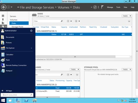 A first look at the Windows Server 10 Technical Preview