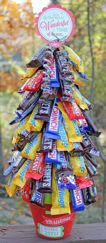 Candy Tree   Christmas candy gifts, Candy christmas tree