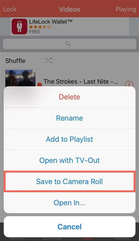 How to Save YouTube Videos Directly to Your iPhone's
