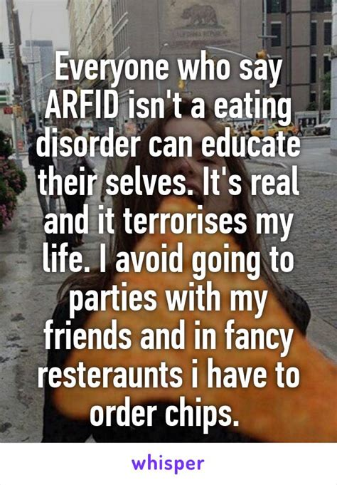 20 Emotional Confessions About Having ARFID/SED