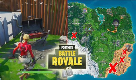 All Fortnite Grills Locations - Game Life