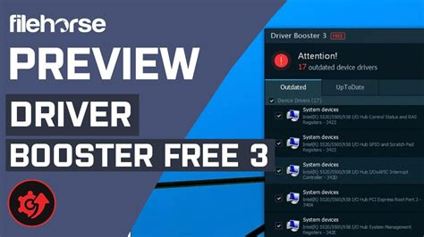 Driver Booster Free 3 - Fix & Update over 200,000 Drivers