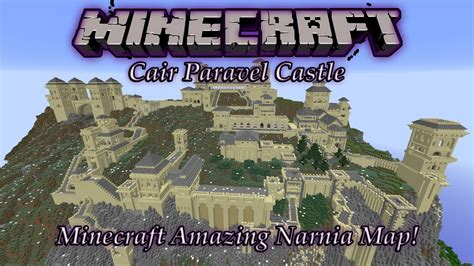 """Minecraft Narnia Map! """"Cair Paravel Castle"""" (PC Download"""