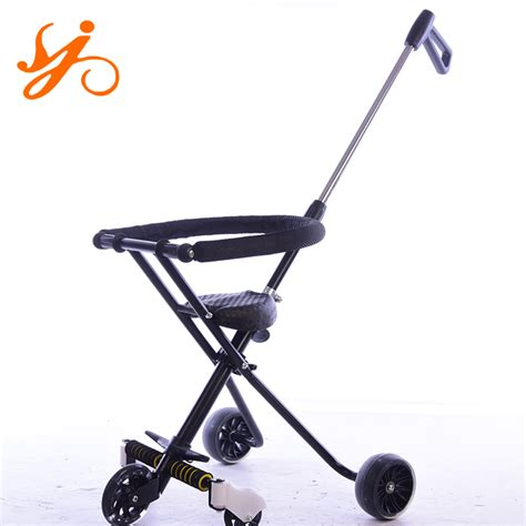 Children Trikes With Parent Handle / Tricycle For 5 Year
