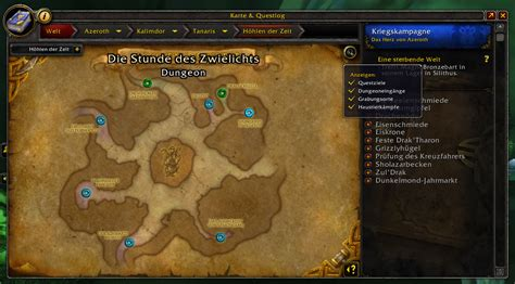 WoW Dungeon Entrances addon Shadowlands/classic 2020