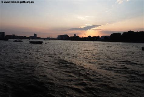 The Thames Path - The Thames Barrier to Greenwich