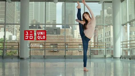UNIQLO   FW13 Ultra stretch jeans featuring Polina