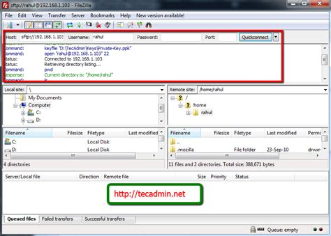 How to Import Private Key in FileZilla ( for SFTP