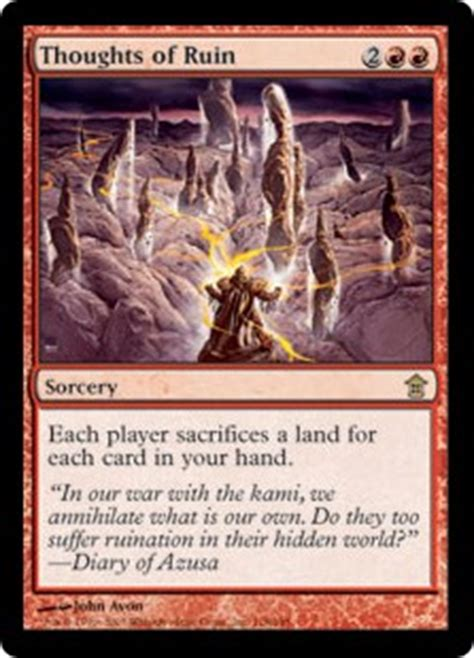 Thoughts of Ruin - Sorcery - Cards - MTG Salvation