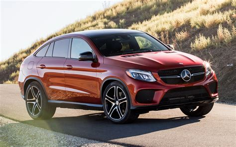 2016 Mercedes-Benz GLE 450 AMG Coupe (US) - Wallpapers and