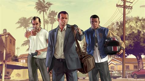 How to Think About Grand Theft Auto V In Ways That Make