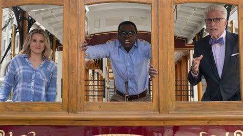 """Chidi wrestles with """"The Trolley Problem"""" on a brilliantly"""