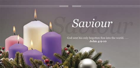 Offering Envelope - Advent - Saviour (Pack of 100)