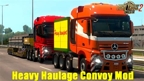 Heavy Haulage Convoy Mod for SCS 8x4s v1