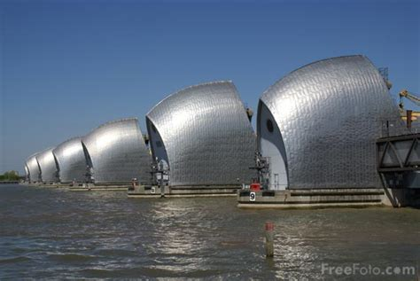 Thames Barrier closed for Queen's Diamond Jubilee River