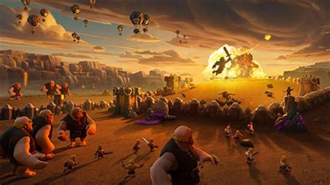 Clash of Clans Theme for Windows 7