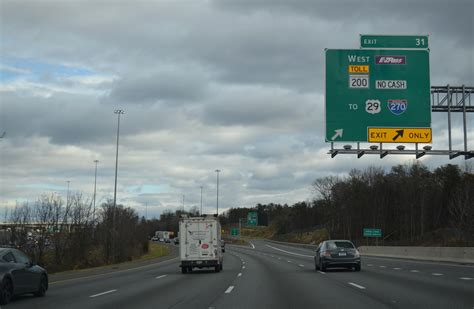 Interstate 95 North - Capital Beltway to Baltimore County