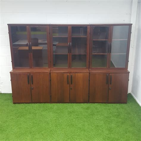 Vintage Glass Display Cabinets | Second Hand Display Cabinets