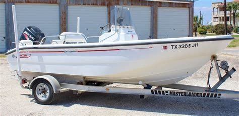 2000 Boston Whaler 160 Dauntless Center Console for sale